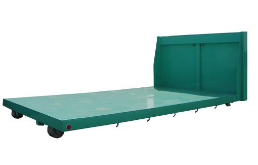 小型重機の運搬に最適 全長3600mm×幅1910mm 板厚:底板3.2mm・側板2.3mm