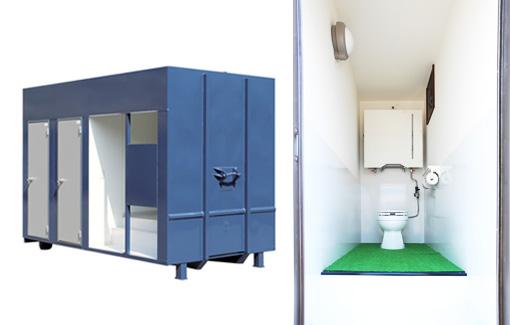 4t用男女共用トイレ(3人仕様)