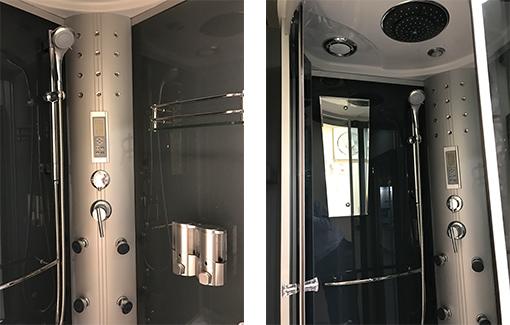 広々使い勝手の良いシャワー室