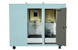2t用男女共用トイレ(2人仕様)