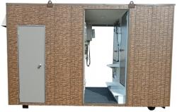 4t用シャワー付きトイレコンテナ