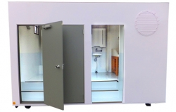 4t用おむつ交換台付トイレ(2人仕様)